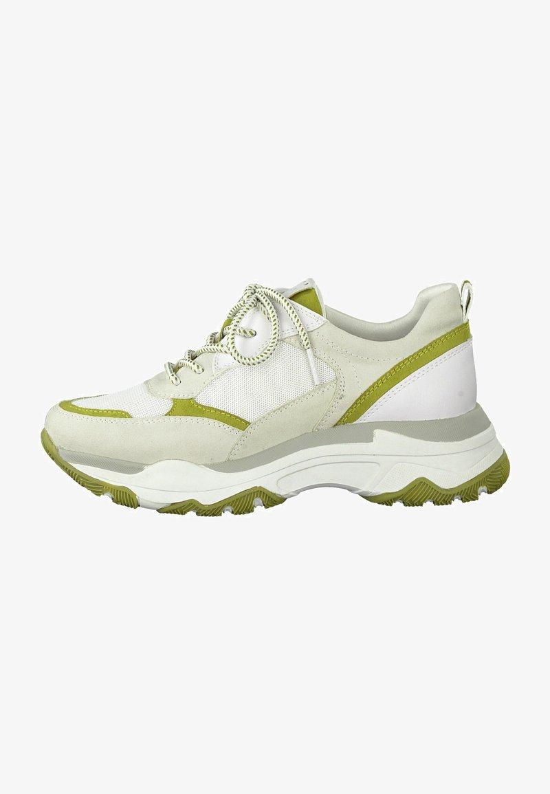 Marco Tozzi - Sneakers basse - pebble/lime