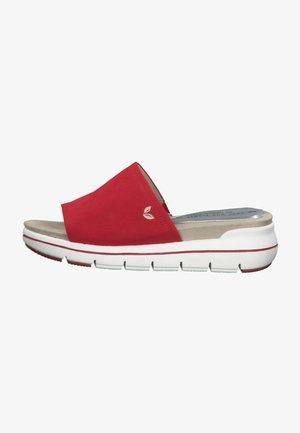 Slip-ins - red