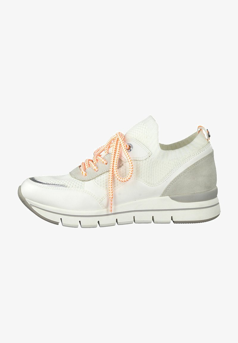 Marco Tozzi - Sneakers basse - white/neon