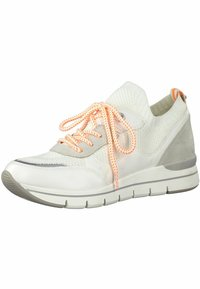 Marco Tozzi - Sneakers basse - white/neon - 2