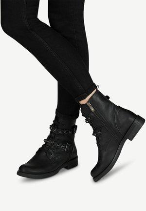 STIEFELETTE - Kovbojské/motorkářské boty - black antic