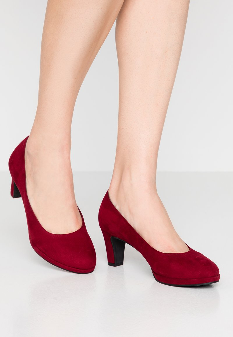 Marco Tozzi - Platform heels - chianti