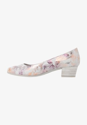 COURT SHOE - Tacones - light grey