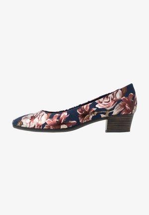 COURT SHOE - Classic heels - navy