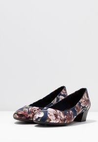 Marco Tozzi - COURT SHOE - Classic heels - navy - 4