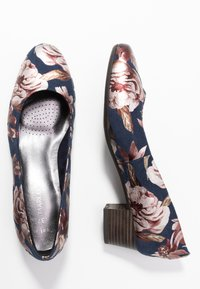 Marco Tozzi - COURT SHOE - Classic heels - navy - 3