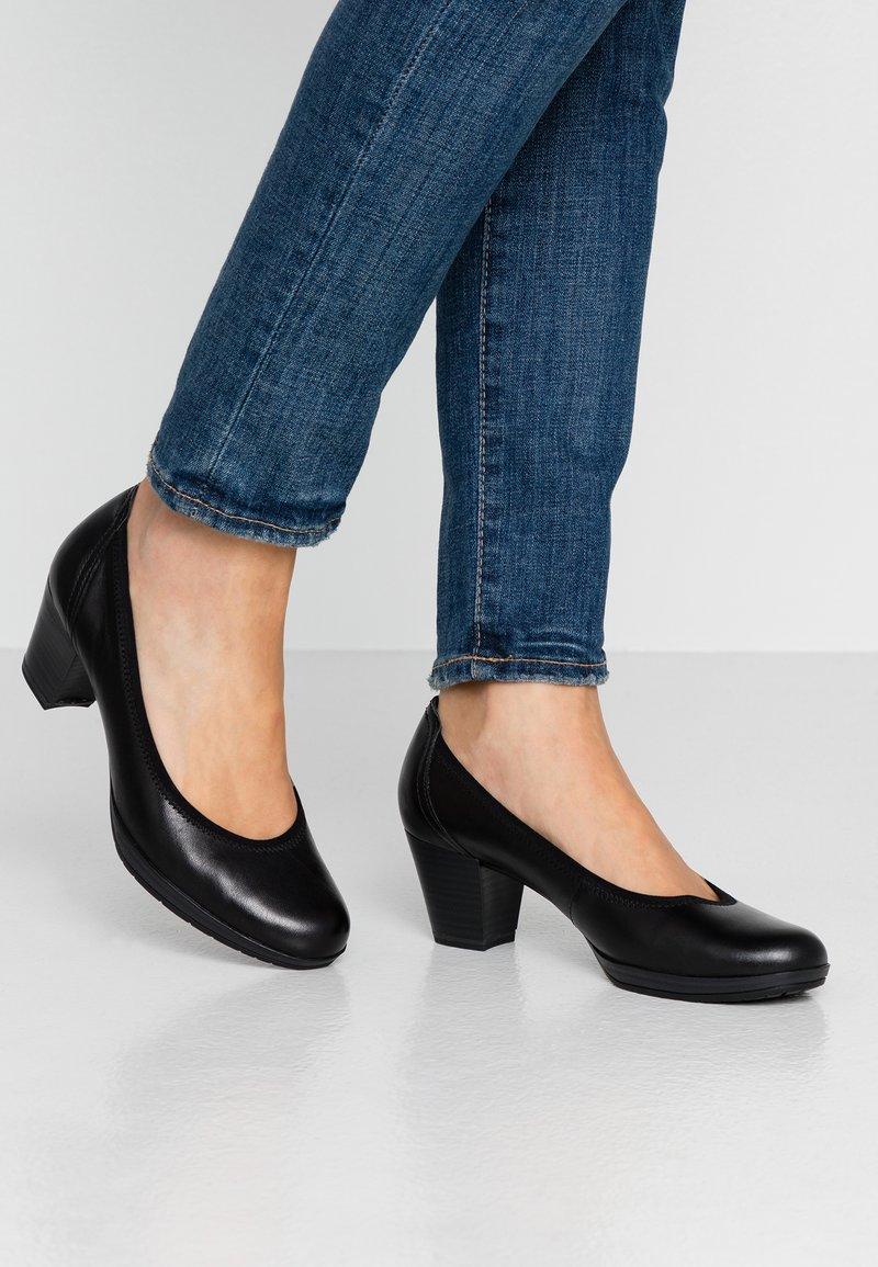 Marco Tozzi - COURT SHOE - Classic heels - black