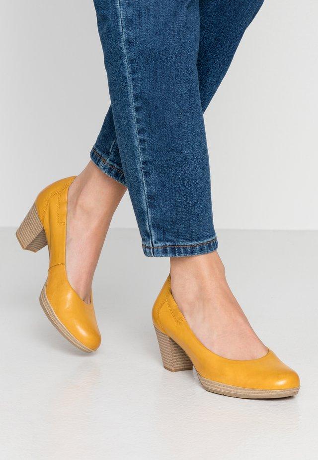 COURT SHOE - Classic heels - sun