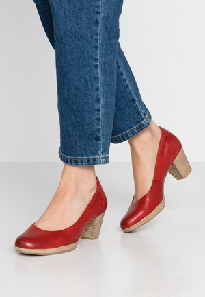 COURT SHOE - Klassiske pumps - chili