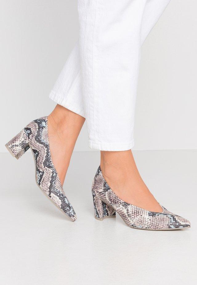 Classic heels - sky/multicolor