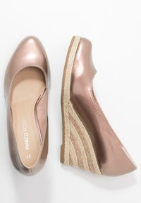 Marco Tozzi - Wedges - rose metallic