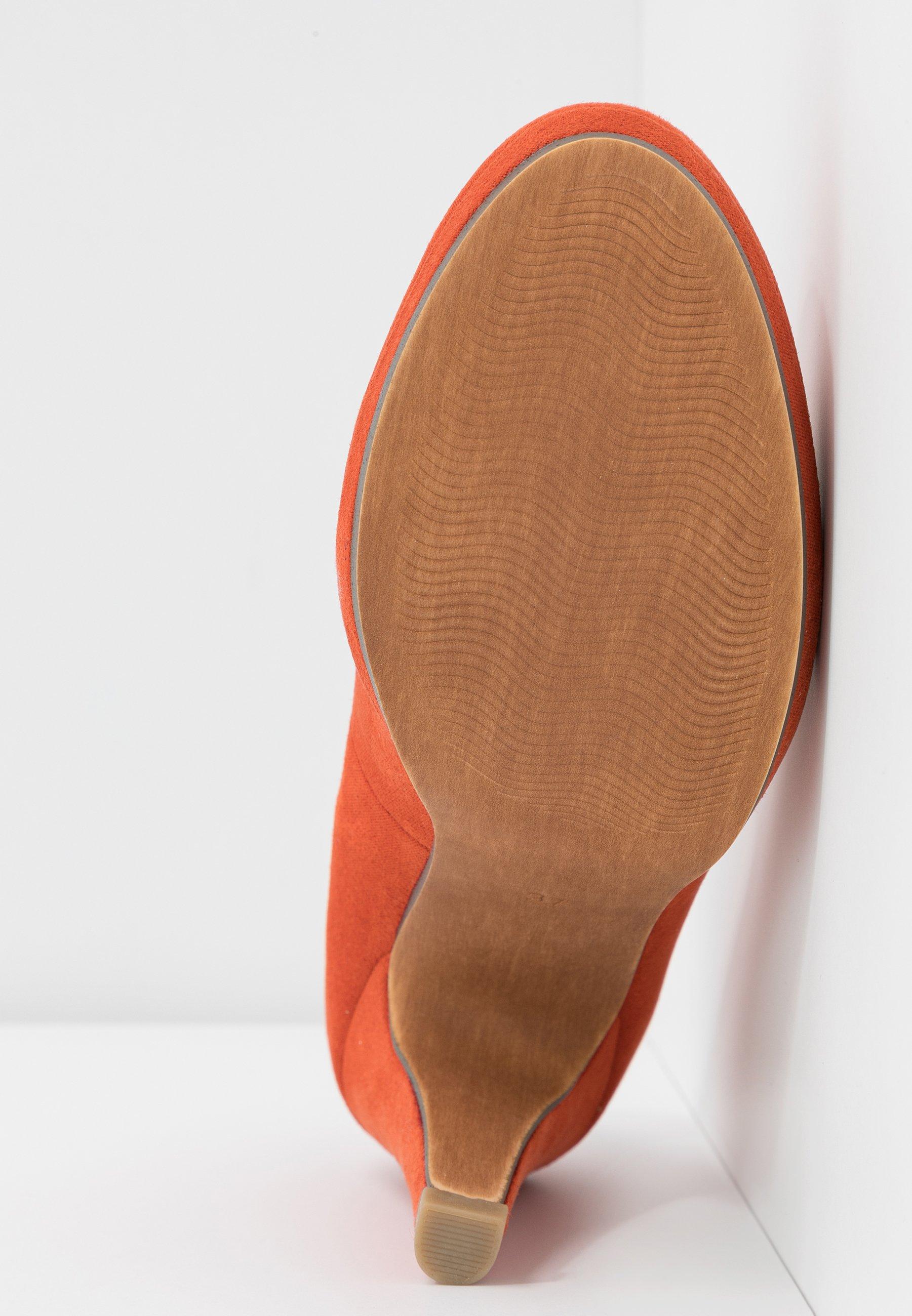 Marco Tozzi High heels - terracotta
