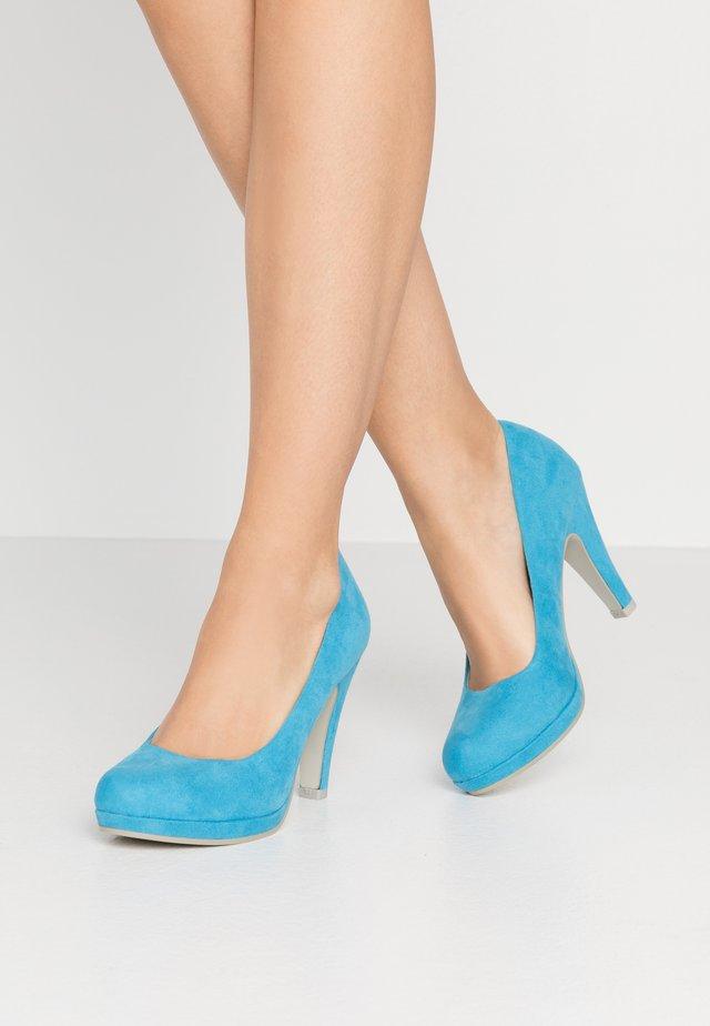 Hoge hakken - malibu blue