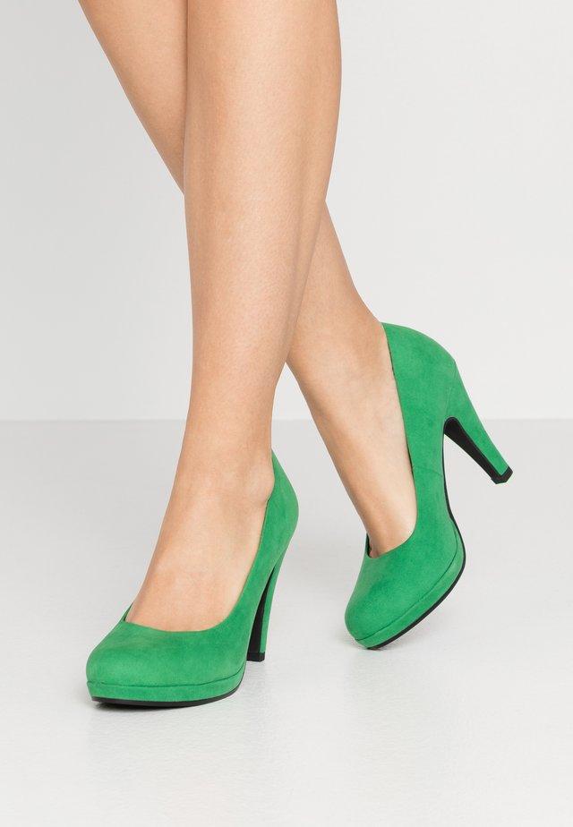 High heels - green