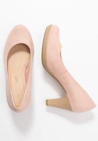 Marco Tozzi - Classic heels - rose - 3
