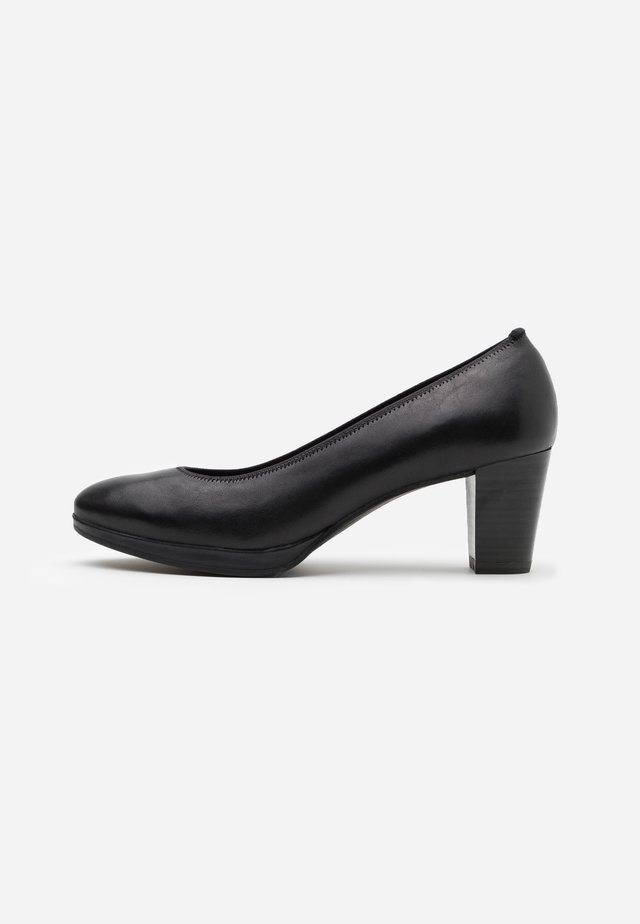 Klassiske pumps - black antic