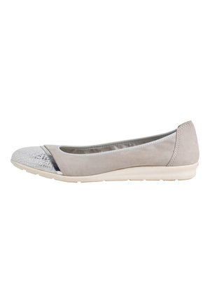 Ballet pumps - lt.grey comb