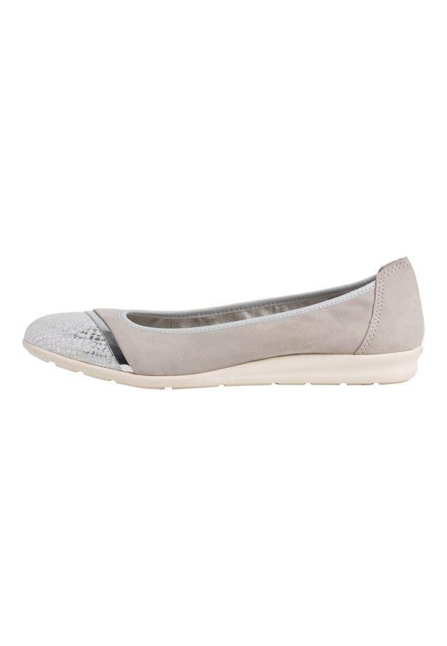 Klassischer  Ballerina - lt.grey comb