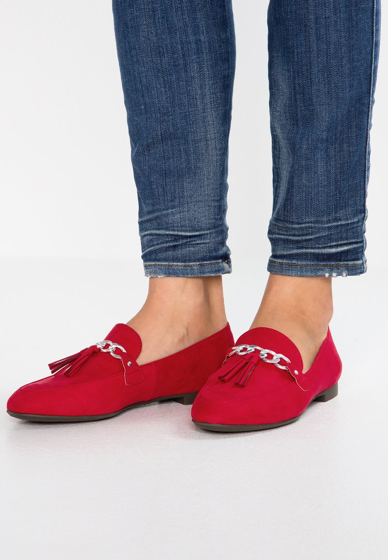 Marco Tozzi - Slip-ons - red