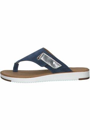 MARCO TOZZI - Pantoffels - denim comb