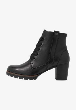 Ankelboots - black antic