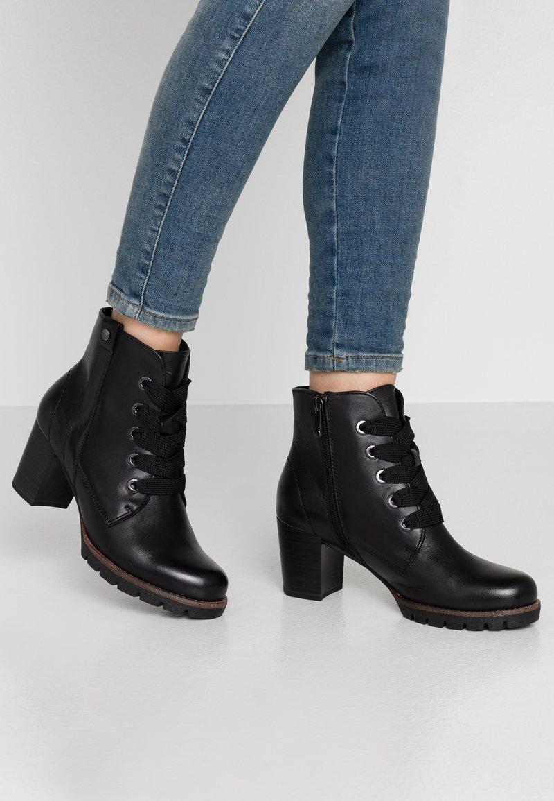 Marco Tozzi - Boots à talons - black antic
