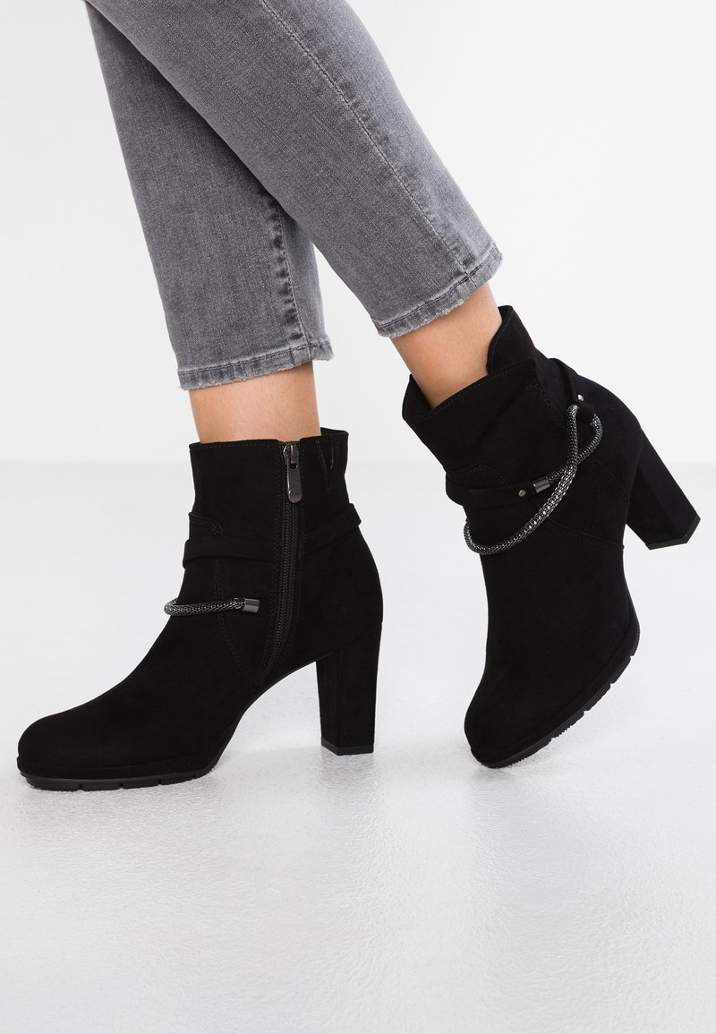 Marco Tozzi - Classic ankle boots - black