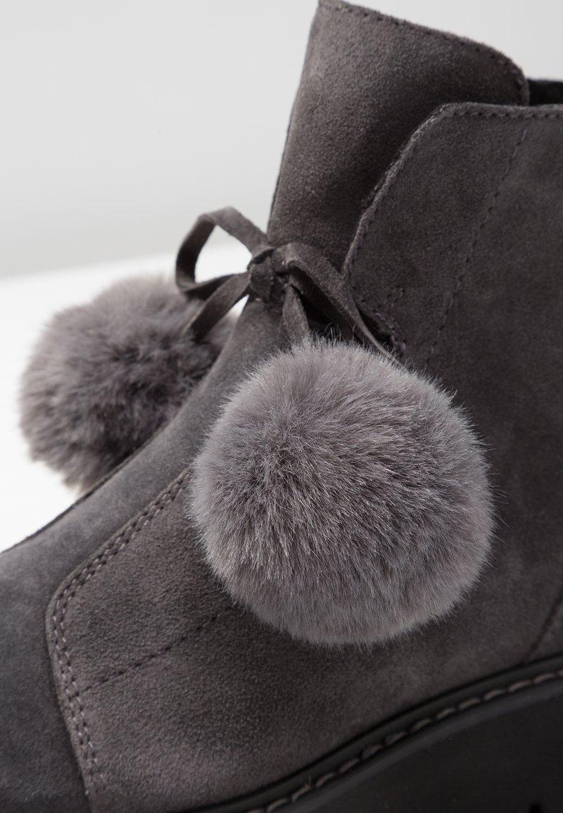 Boots Marco À Antic Grey Dark Talons Tozzi shtoxQrdCB