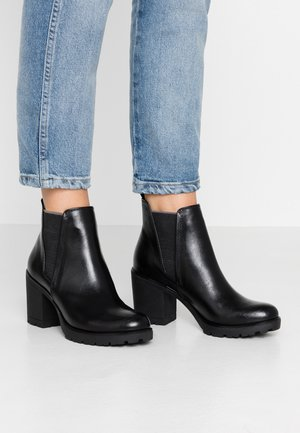Ankle boot - black antic