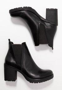 Marco Tozzi - Kotníková obuv - black antic - 3
