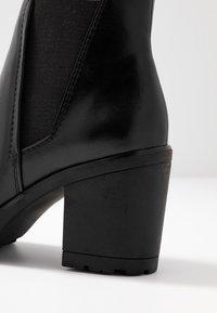 Marco Tozzi - Kotníková obuv - black antic - 2