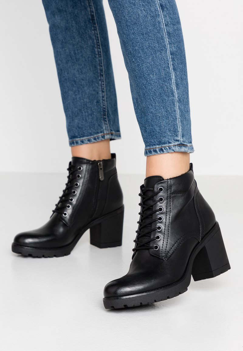 Marco Tozzi - Ankle boots - black antic