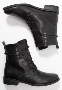 Marco Tozzi - Lace-up ankle boots - black antic - 3