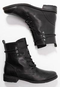 Marco Tozzi - Bottines à lacets - black antic - 3