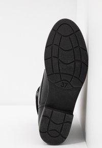 Marco Tozzi - Bottines à lacets - black antic - 6