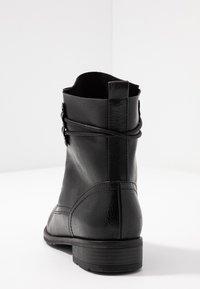 Marco Tozzi - Bottines à lacets - black antic - 5