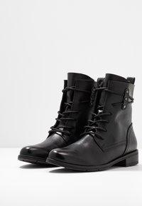 Marco Tozzi - Bottines à lacets - black antic - 4