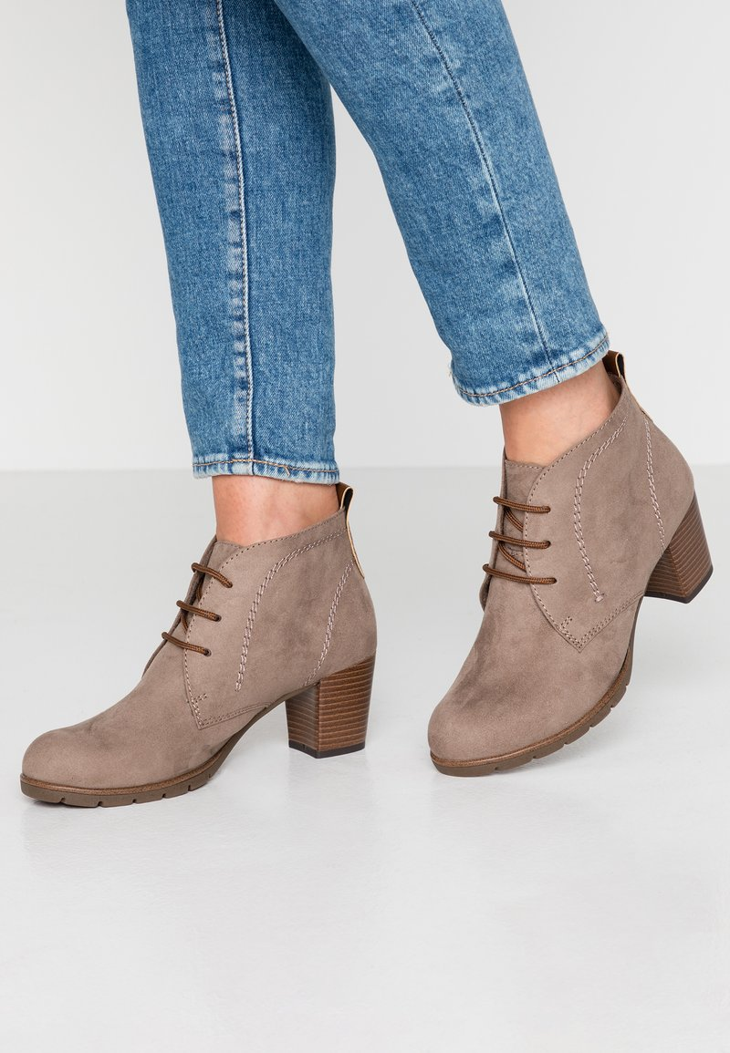 Marco Tozzi - Ankle Boot - taupe