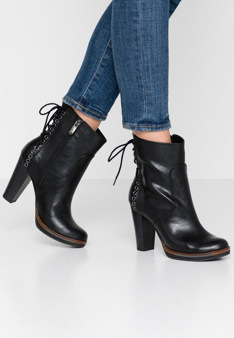 Tozzi Bottines À Black Talons Antic Marco Hauts thrCBsQxd