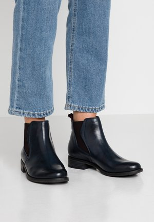 Ankle boots - navy antic