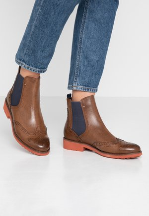 Bottines - cognac antic