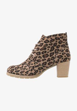 Ankle boots - desert/multicolor