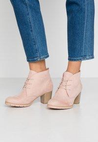 Marco Tozzi - Boots à talons - rose - 0