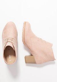 Marco Tozzi - Boots à talons - rose - 3