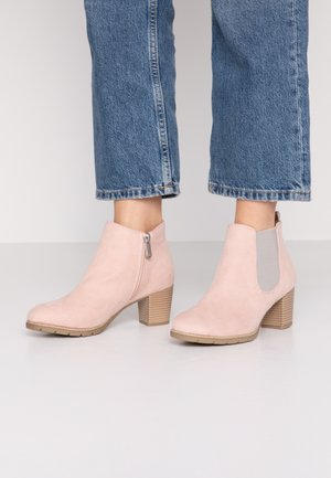 Ankle boots - rose