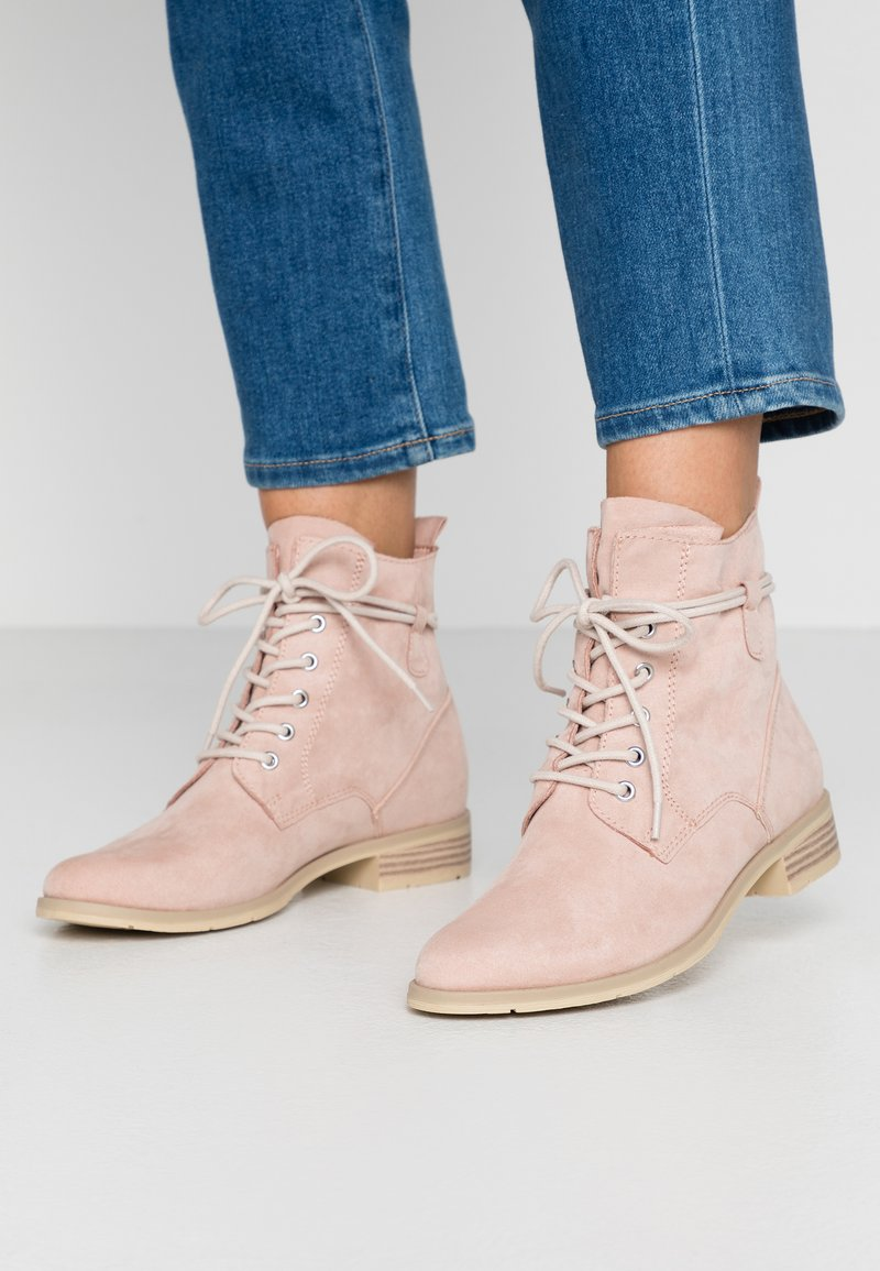 Marco Tozzi - Lace-up ankle boots - rose