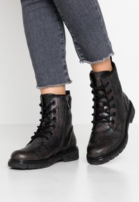Marco Tozzi - BOOTS - Lace-up ankle boots - copper - 0
