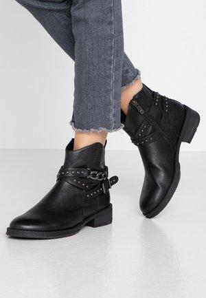 BOOTS - Cowboystøvletter - black antic