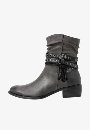 BOOTS - Cowboy-/Bikerstiefelette - dark grey