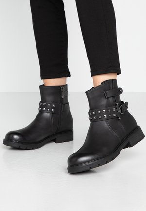 BOOTS - Santiags - black antic
